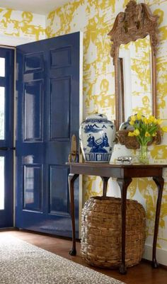 Yellow and Blue entry by Suellen Gregory