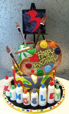 Artist's Delight cake