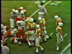 1966 Gator Bowl Syracuse vs. Tennessee 1 of 4