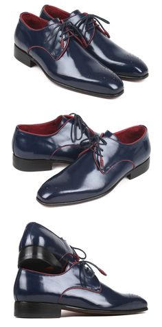Paul Parkman Medallion Toe Navy Polished Leather Derby Shoes  Website: www.paulparkman.com . . .   #paulparkman #paulparkmanshoes #derbyshoes  #handmade #bespoke #luxury #shoemaker #handcrafted #shoesformen #mensshoes #handmadeshoes #mensfashion #patinashoes #bespokeshoes #luxuryshoes #shoeaddict #shoegasm Boat Shoes, Men's Shoes, Derby Shoes, Luxury Shoes, Bespoke, Red Leather, Oxford Shoes, Toe, Mens Fashion