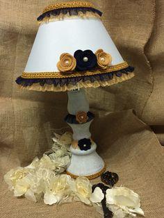 lampada giallo/blu