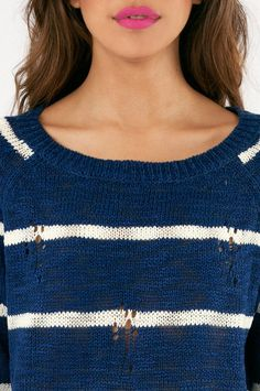 College Ruled Sweater #stripes
