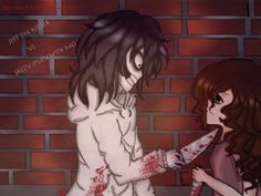 Jeff the Killer & Sally~creepypasta~