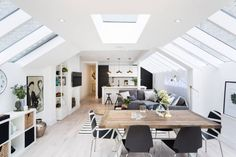 Contemporary open plan living with gorgeous architectural lines and wonderful light!