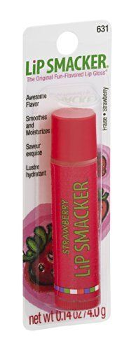 Lip Smacker Lip Gloss Strawberry 631 Pack of 12 ** Read more reviews of the product by visiting the link on the image.
