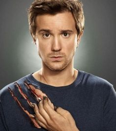 "Sam Huntington as Josh. ""Being Human"" Us. They only cast gorgeous people, apparently."