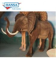 Hansatronics Mechanical Elephant Walking Life Size (0029) - FREE SHIPPING!