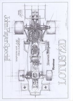 Love the Lotus simplistic design, cant wait to start my next open wheeler. Love the Lotus simplistic design, cant wait to start my next open wheeler. Lotus F1, Technical Illustration, Car Illustration, Technical Drawings, Illustrations, 3d Models, Car Drawings, Car Sketch, Automotive Art