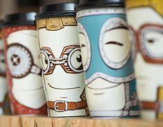 Emotion Coffee Cups by Backbone Branding