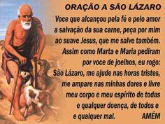 São Lázaro!
