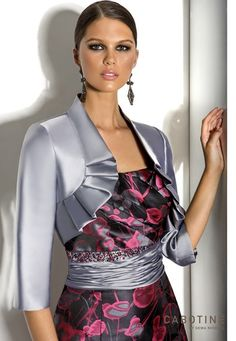 Detail of Cabotine style 5005687, with matching jacket.