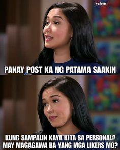 Dito ka lang matapang! Harapan tayo kaya mo?! Bitch! Ahas! Kabit! Makati! Malandi! Oh btw wag ka na aasang babalikan ka ng asawa ha hahahahaha Tagalog Quotes Patama, Tagalog Quotes Hugot Funny, Memes Tagalog, Hugot Quotes, Filipino Funny, Filipino Quotes, Pinoy Quotes, Tagalog Love Quotes, Jokes Quotes