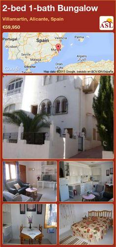 2-bed 1-bath Bungalow in Villamartin, Alicante, Spain ►€59,950 #PropertyForSaleInSpain