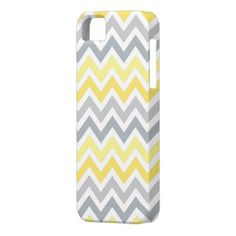 Yellow Gray Ombre Chevron Stripe | Apple iPhone 5 iPhone 5 Cover