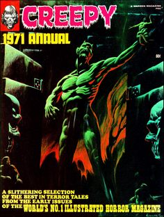 Creepy 1971 Annual - Cover by Kenneth Smith