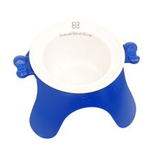 PetEgo Yoga Dog Bowl  Small  Blue w Ceramic -- Click image for more details.(This is an Amazon affiliate link and I receive a commission for the sales)