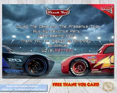 Welcome To Marys Digital Creations Cars 3 Birthday InvitationCars Invitation Party InvitationPersonalized Invitations