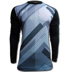 Ichnos Kerberos padded long sleeves goalkeeper football shirt black gr – ICHNOS SPORTS
