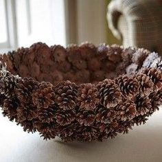 DIY Pine Cone Heart - Pine Cones are a great material for wreaths. Online source and sale of pine cones and pine needles. Pine cones for crafts, art and decor. Heart Shaped Pine Cone Wreath Rustic decor Wreath by F Pine Cone Art, Pine Cone Crafts, Pine Cones, Homemade Food Gifts, Homemade Christmas Gifts, Christmas Crafts, Merry Christmas, Cheap Christmas, Christmas Templates