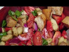 Panzanella Salad - Recipe by Laura Vitale - Laura in the Kitchen Episode 178