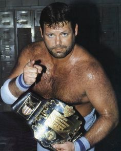 """Jerry """"The King"""" Lawler, AWA World Heavyweight Champion Awa Wrestling, Jerry The King Lawler, Professional Wrestling, Great Memories, Champs, Mma, American, Boxing, Vintage"""