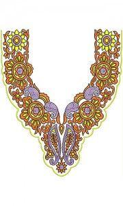 Risultati immagini per beaded embroidery designs Hand Embroidery Designs, Beaded Embroidery, Design Of Neck, Honeycomb Pattern, Stitch Design, Craft Patterns, Wedding Wear, Fashion Company, Necklace Designs