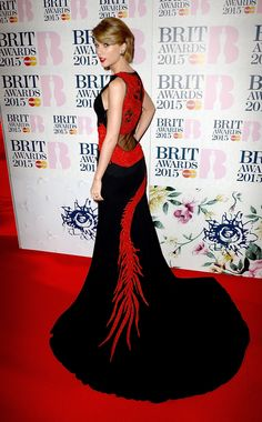 At the Brit Awards, Cara Delevingne Hits the Red Carpet and Kanye Debuts a New Track - Gallery - Style.com