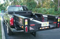 Sliding cargo bed basket. #black #awesome #organize Truck Bed Accessories, Organize, Basket, Trucks, Awesome, Black, Black People, Truck