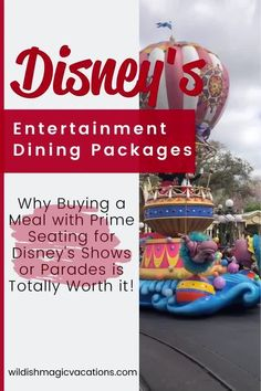 You can book dining packages at Disneyland and Disney World that gets you an amazing meal plus priority seating at a Disney show, parade, or fireworks. Check out this post to see if those packages are worth spending money on during your next family Disney vacation. Disney World Vacation Planning, Disney World Hotels, Disney World Restaurants, Disneyland Resort Hotel, Disneyland Vacation, Disney Vacations, Magic Vacations, Disneyland Dining, Disney Dining Plan