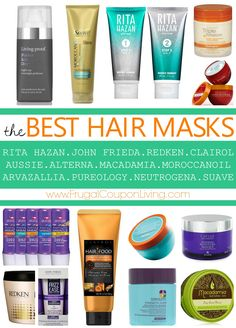 Looking for Hair Hacks, these are the BEST Hair Masks found outside of a Salon. Just like Jennifer Aniston Hair. Many of these are found cheaper online than at your Hair Dresser.