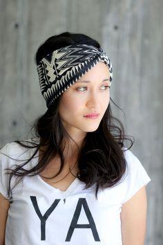 DIY Headwrap Band TUTORIAL - Delia Creates Simple Hairstyles, Cornrows, Crowns, Bonito