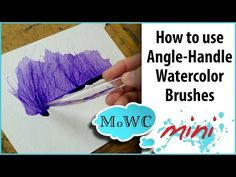 My Watercolor Plein Air Set Up and a Quick Tree Study - YouTube
