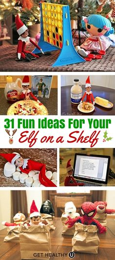 It's that time of the year for traditions…and maybe some of you had Santa's little helpers that came to visit during the holidays. Have fun this year with some of these creative ideas!