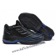 pretty nice b2496 f4819 Adidas T-Mac 2 Tracy McGrady Shoes Black Blue