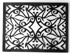 Mediterranean Lace Rectangle Frame - FRM119 - Cheery Lynn Designs