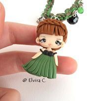 polymer clay chibi dolls - Google Search