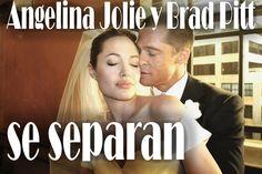 Angelina Jolie y Brad Pitt se separan,Brad Pitt  se separan de Angelina ...