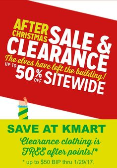 kmart after christmas sale is going on now check out the free after - Kmart After Christmas Sale