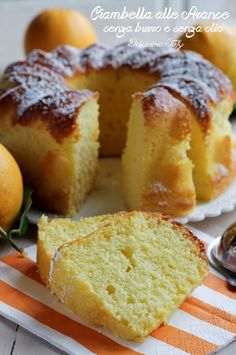 Italian Desserts, Italian Recipes, Sweet Light, Sweet Cooking, Plum Cake, Angel Cake, Homemade Cakes, Light Recipes, International Recipes