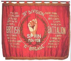 British Battalion International Brigade. Spanish Civil War.