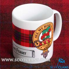 Fraser Clan Crest Mu