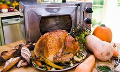Wolfgang Puck's Roast Turkey on a Bed of Vegetables
