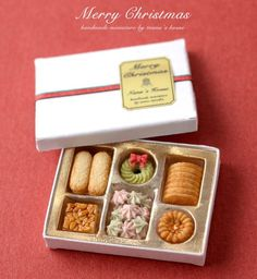 早いもので2015年最後になります 12月の1Dayミニチュア教室は・・・ 「箱詰めクリスマスクッキー」にしました!