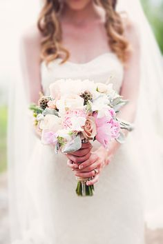 #bouquet  Photography: Jamie Lauren Photography - jamielaurenphotography.com  Read More: http://www.stylemepretty.com/canada-weddings/2014/02/13/romantic-west-vancouver-wedding/