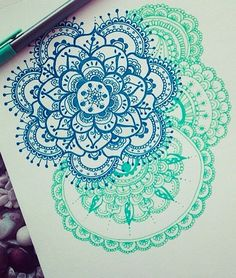 I need to try to draw this zentangle