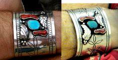 Handmade replica of Robert Plant's bracelet