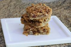 Coconut Pecan Dream Bars With Optional Chocolate Chips