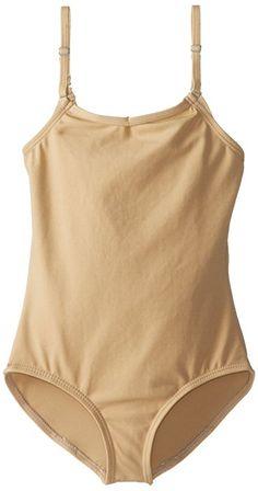 2a6c7c468a446 Amazon.com: Capezio Big Girls' Team Basic Camisole Leotard W/ Adjustable  Straps