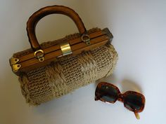 Vintage Straw Bag, Very Kate Spade!