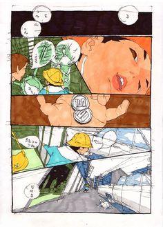Masaaki Yuasa comics about youth